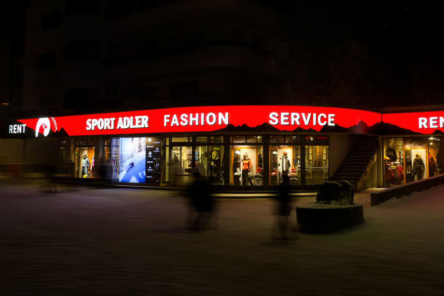 Sportshop Adler in Ischgl